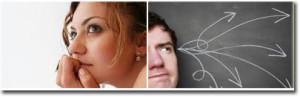 Thinking Man & Woman1